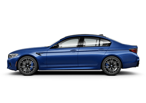 New BMW M5 in