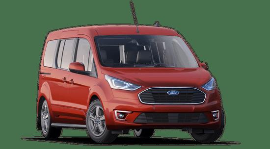 Transit Connect Titanium Extended Cab Passenger Wagon