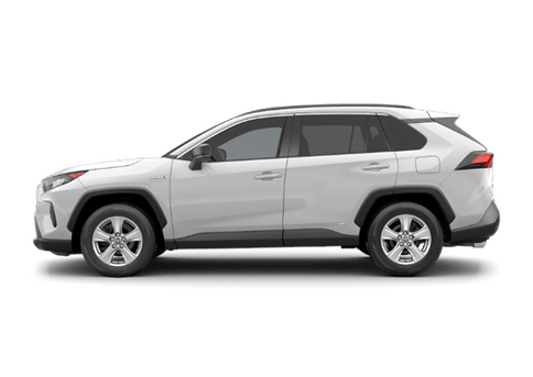 New Toyota RAV4 Hybrid in