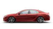 New Toyota Camry at Vacaville