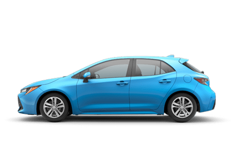 New Toyota Corolla Hatchback in