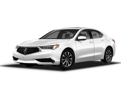 New Acura TLX at Augusta