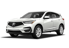 New Acura RDX at Augusta