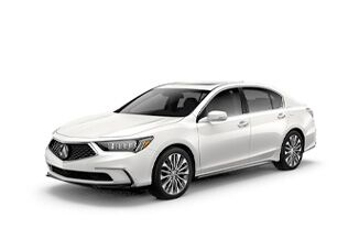 New Acura RLX in Seattle