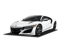 New Acura NSX at Augusta