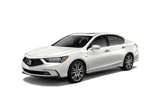 New Acura RLX Sport Hybrid in Highland Park