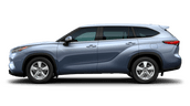 New Toyota Highlander at Vacaville