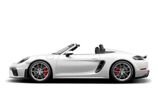 New Porsche 718 Spyder near Colorado Springs