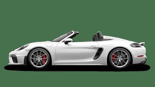 New Porsche 718 Spyder near Columbia