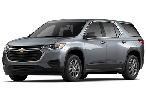 New Chevrolet Traverse in