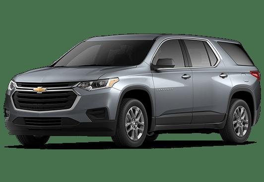 New Chevrolet Traverse in Salisbury