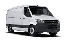 New Mercedes-Benz Sprinter Cargo Van at Wilmington