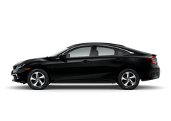 New Honda Civic Sedan at Salinas