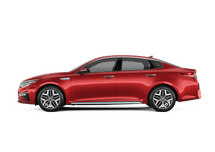 New Kia Optima Hybrid at Concord