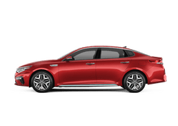 New Kia Optima Hybrid at Akron