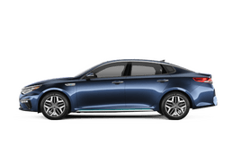 New Kia Optima Plug-In Hybrid at Akron