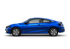 New Honda Civic Coupe at Ponce