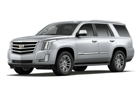 New Cadillac Escalade in