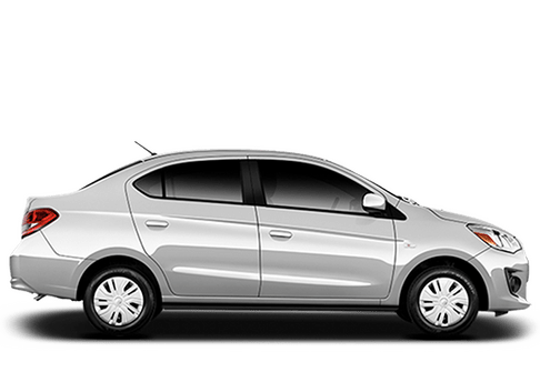 New Mitsubishi Mirage G4 in Mission