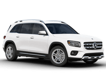 New Mercedes-Benz GLB at Harlingen