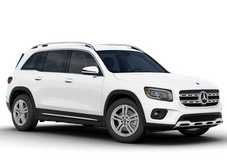 New Mercedes-Benz GLB at Houston