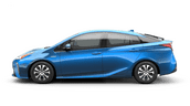 New Toyota Prius AWD-e at Vacaville