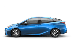 New Toyota Prius AWD-e at Birmingham