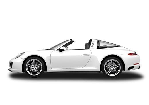 New Porsche 911 Targa 4 near Highland Park