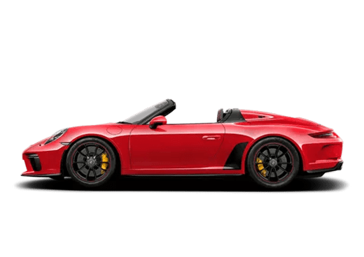 New Porsche 911 Speedster near Highland Park