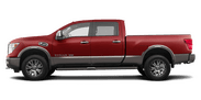 New Nissan Titan at Wilkesboro