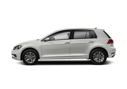 New Volkswagen Golf at Santa Rosa