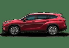 New Toyota Highlander Hybrid at Decatur