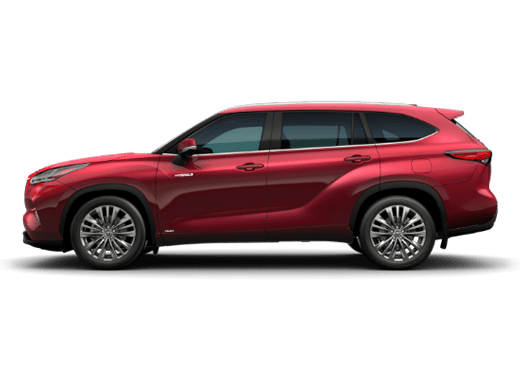 New Toyota Highlander Hybrid near Fallon
