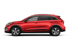 New Kia Niro at Swansea