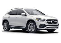 New Mercedes-Benz GLA at Oshkosh