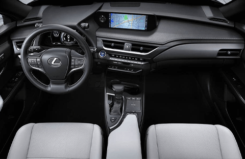 DRIVER-INSPIRED INTERIOR