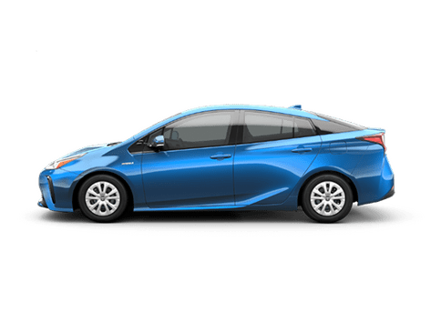 New Toyota Prius in