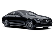 New Mercedes-Benz CLS 450 at Wilmington
