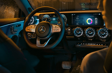 All-digital cockpit. That responds to your digits.