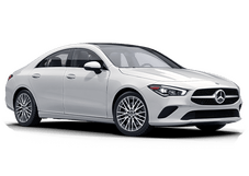 New Mercedes-Benz CLA at Morristown