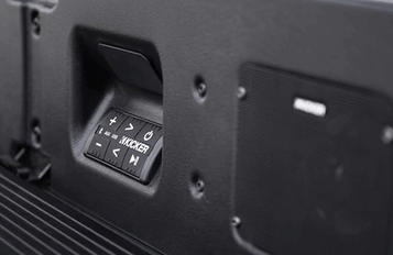 AVAILABLE ACCESSORY MULTIPRO AUDIO SYSTEM BY KICKER®
