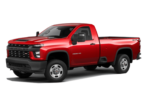 New Chevrolet Silverado 2500HD in