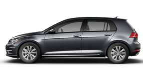 New Volkswagen Golf at Chattanooga