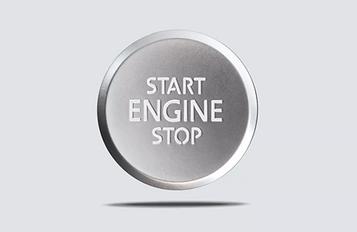 Keyless access with push-button start.