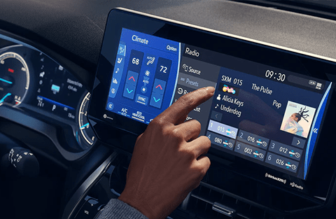 12.3-in. touchscreen display