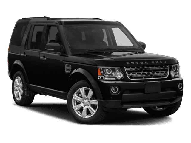 New Land Rover LR4 near Pasadena