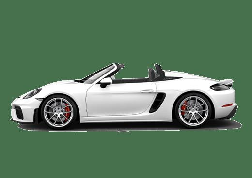 New Porsche 718 Spyder near Highland Park