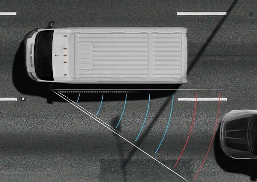 NEW AVAILABLE BLIND SPOT MONITORING WITH REAR CROSS PATH DETECTION