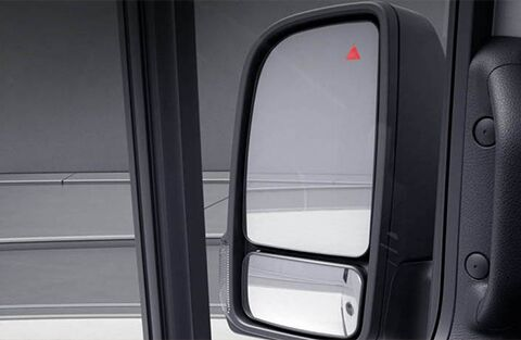 Blind Spot Assist Mirror