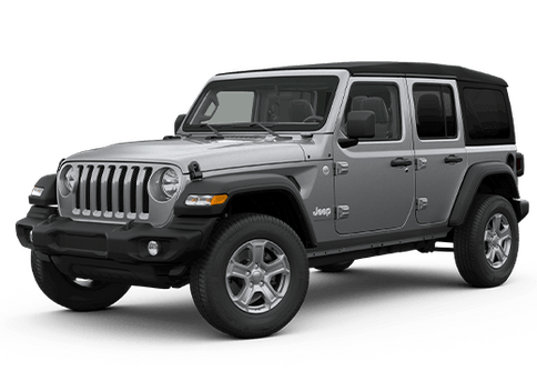 New Jeep Wrangler in